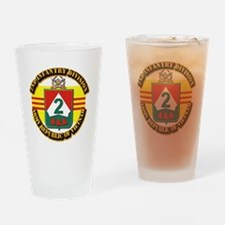 ARVN - 2nd Infantry Division Drinking Glass
