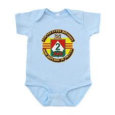 ARVN - 2nd Infantry Division Infant Bodysuit
