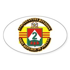 ARVN - 2nd Infantry Division Decal