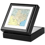 Texas Square Keepsake Boxes