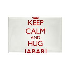 Keep Calm and HUG Jabari Magnets