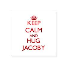 Keep Calm and HUG Jacoby Sticker