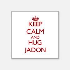 Keep Calm and HUG Jadon Sticker