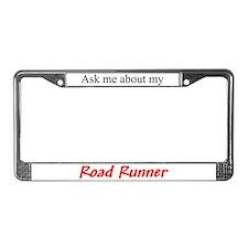Road Runner License Plate Frame