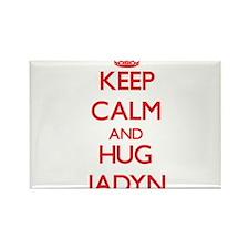 Keep Calm and HUG Jadyn Magnets
