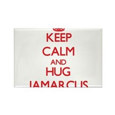 Keep Calm and HUG Jamarcus Magnets