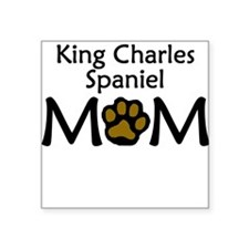 King Charles Spaniel Mom Sticker