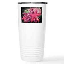 Pink Starfish Travel Mug