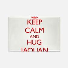 Keep Calm and HUG Jaquan Magnets