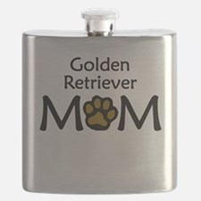 Golden Retriever Mom Flask