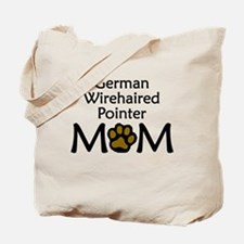 German Wirehaired Pointer Mom Tote Bag