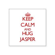Keep Calm and HUG Jasper Sticker
