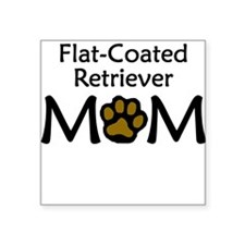 Flat-Coated Retriever Mom Sticker