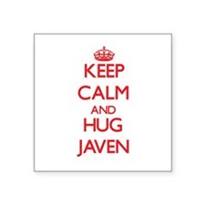 Keep Calm and HUG Javen Sticker