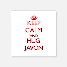 Keep Calm and HUG Javon Sticker