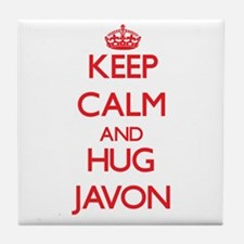 Keep Calm and HUG Javon Tile Coaster