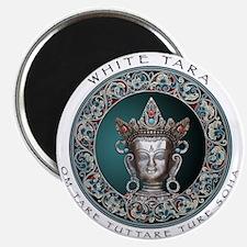 White Tara Magnet
