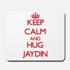 Keep Calm and HUG Jaydin Mousepad