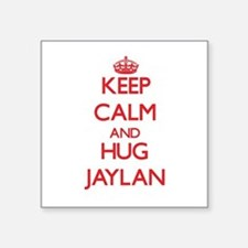 Keep Calm and HUG Jaylan Sticker