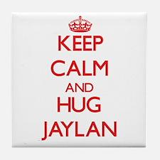 Keep Calm and HUG Jaylan Tile Coaster