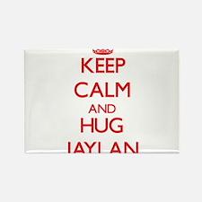 Keep Calm and HUG Jaylan Magnets