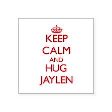 Keep Calm and HUG Jaylen Sticker