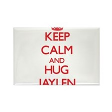Keep Calm and HUG Jaylen Magnets