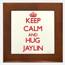 Keep Calm and HUG Jaylin Framed Tile