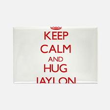 Keep Calm and HUG Jaylon Magnets