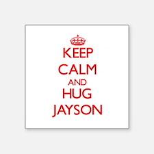 Keep Calm and HUG Jayson Sticker