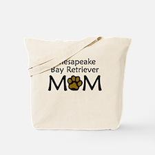 Chesapeake Bay Retriever Mom Tote Bag