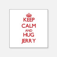 Keep Calm and HUG Jerry Sticker