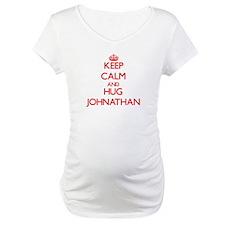 Keep Calm and HUG Johnathan Shirt