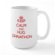Keep Calm and HUG Johnathon Mugs