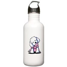 Maltese Girl In Pink Water Bottle