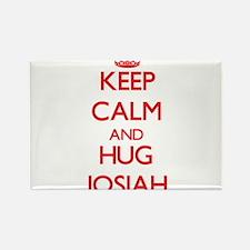 Keep Calm and HUG Josiah Magnets