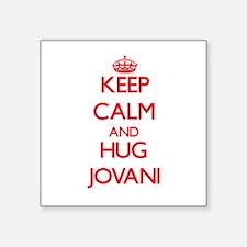 Keep Calm and HUG Jovani Sticker