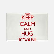 Keep Calm and HUG Jovani Magnets