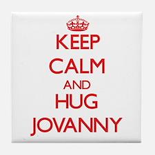Keep Calm and HUG Jovanny Tile Coaster