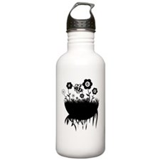 pushing daisies Water Bottle