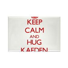 Keep Calm and HUG Kaeden Magnets
