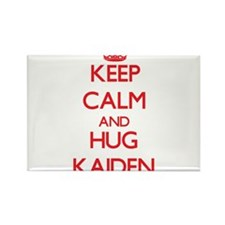 Keep Calm and HUG Kaiden Magnets