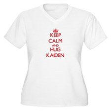 Keep Calm and HUG Kaiden Plus Size T-Shirt