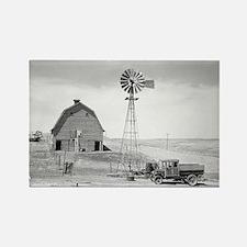 Abandoned Farm, 1936 Magnets