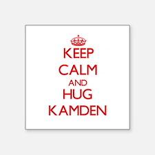 Keep Calm and HUG Kamden Sticker