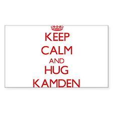 Keep Calm and HUG Kamden Decal