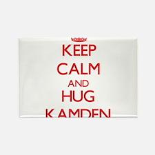 Keep Calm and HUG Kamden Magnets