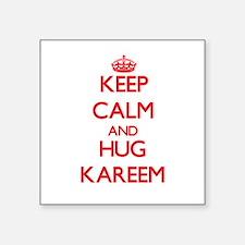 Keep Calm and HUG Kareem Sticker