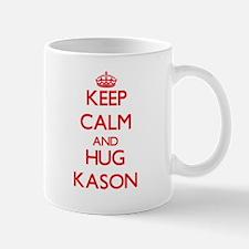Keep Calm and HUG Kason Mugs