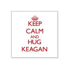 Keep Calm and HUG Keagan Sticker